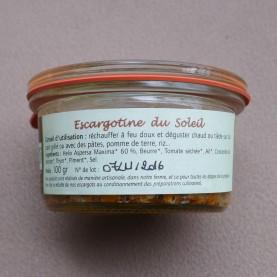 terrine d'escargots tomate