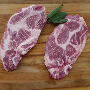 Côtes de porc - Échine 400g