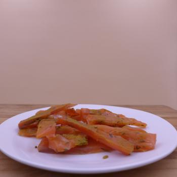 Saumon confit épicé 120g