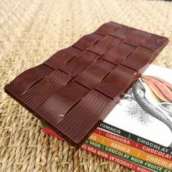 Chocolat noir fruité et épicé - 85% 80g