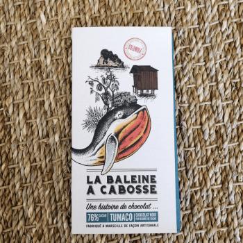 Chocolat noir puissant et iodé - 76%