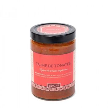 tajine de tomates végétarienne