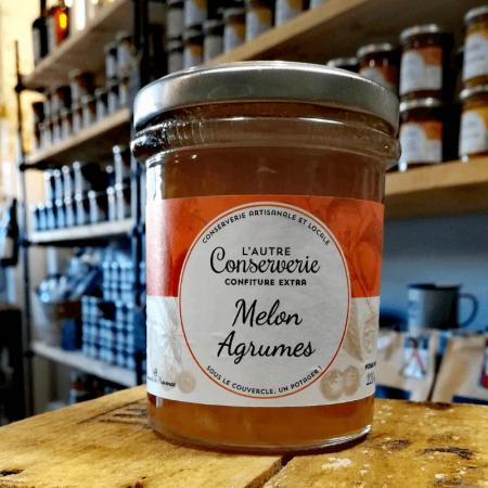 Confiture melon agrumes 220g