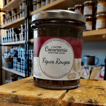 Confiture figues rouges 220g