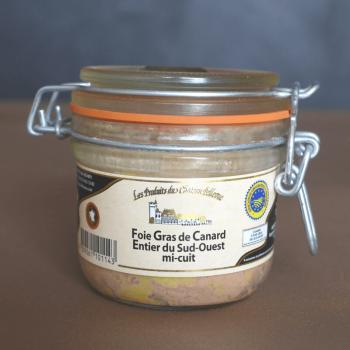 Foie gras en bocal entier