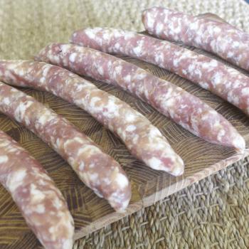 6 Saucissettes pur porc 600g