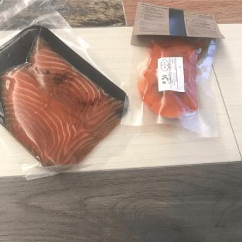 Trio dégustation de saumons fumés 150g