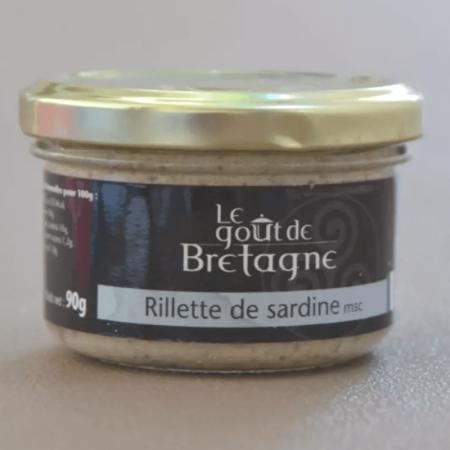 Rillettes de sardines bio 90g