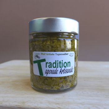Tapenade verte traditionnelle 135g