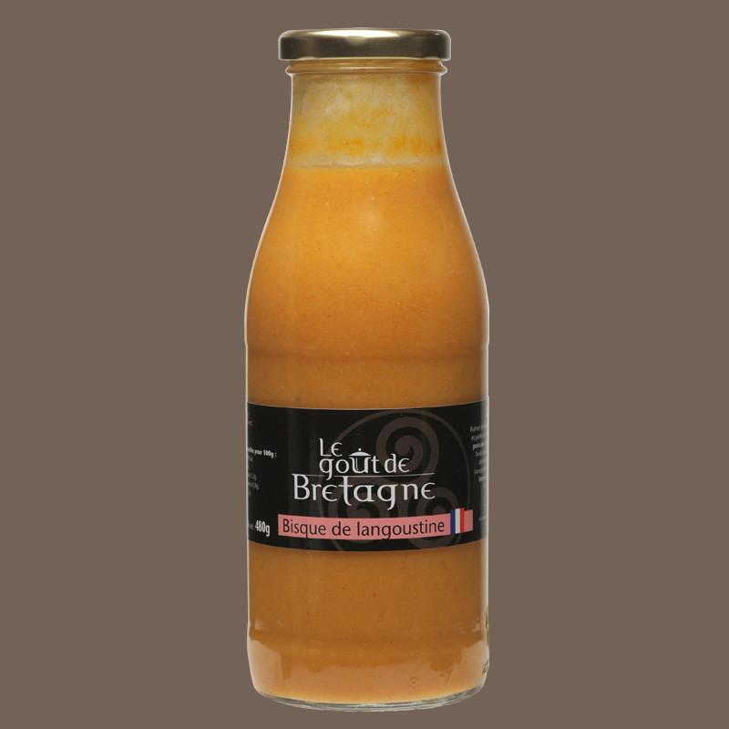 Bisque de langoustine artisanale