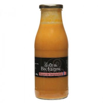 Bisque langoustine