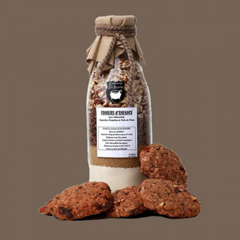Bouteille recette cookies