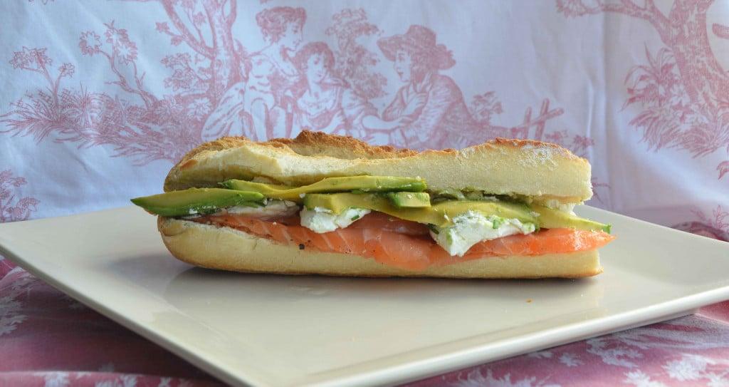 Recette : sandwich saumon fumé artisanal