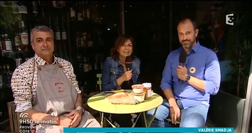 Temps Gourmand et Notre Cave du Mont à la télévision !