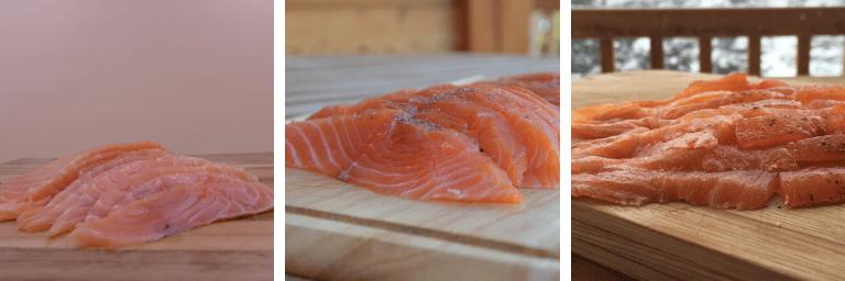 saumon fumé artisanale