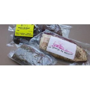Vente en ligne viandes séchées : bœuf séché, magret séché, biltong